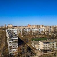 Вид с Альпийский переулок 2 Санкт-Петербург :: Роман Алексеев