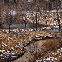 """""""Пятнистый апрель. Талые воды""""© :: Владимир Макаров"""