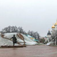 Апрель со снегом. :: Анатолий. Chesnavik.