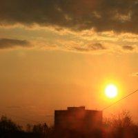 Форточный этюд  23 апреля :: олег свирский