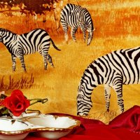 Пасутся  себе зебры?.. в зале! :: Евгений