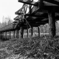 деревянный мост :: Сергей Лындин