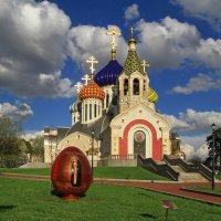 Храм Игоря Черниговского в Переделкине :: Ninell Nikitina