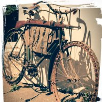 Велосипед,с первой мировой войны. :: Георгиевич