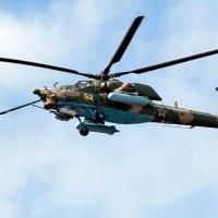 Модернизированный вертолет Ми-28НМ :: Anatoley Lunov