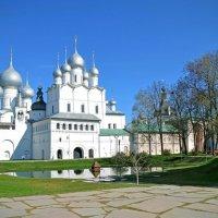 Белокаменные стены Ростовского Кремля :: Нина Синица