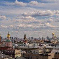 """""""Над золотыми куполами""""© :: Владимир Макаров"""