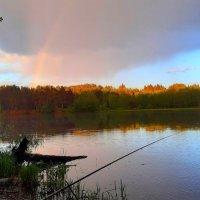 На рыбалке с радугой :: Юрий Пучков