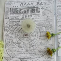 Секретный дневник одуванчика: план рекламной кампании на Марсе и Венере... :: Alex Aro Aro Алексей Арошенко