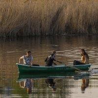 Катание на лодке :: Сергей Цветков