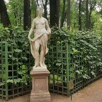 М. Гропелли —статуя «Талия» (около 1719) :: Елена Павлова (Смолова)