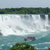 Ниагарский водопад Фата (Bridal Veil Falls), высота 53 м :: Юрий Поляков