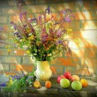 А хочешь, подарю тебе цветы? Они с лугов заоблачно-летящих,...... :: TAMARA КАДАНОВА
