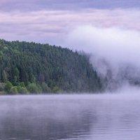 Туманная пелена на Сылве :: Алексей Сметкин