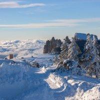 Зимняя сказка на плато Ай-Петри :: Сергей Титов