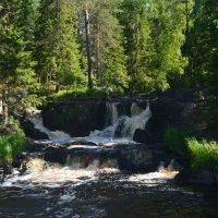 Рускеальский водопад Ахвенкоски :: Ольга Попова (popova/j2011)