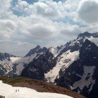 В горах Домбая :: Galina Solovova