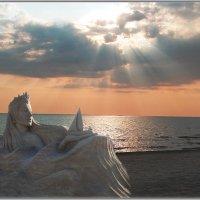 Морская царица из песка :: Natali