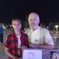 Работали вместе, модель и художник :: Александр Яковлев  (Саша)