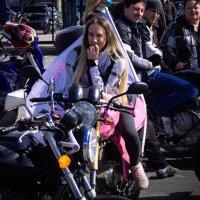 мотоциклистка Маша( доработка) :: Влад