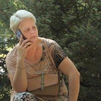 Пенсионерка... :: barsuk lesnoi