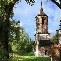 Старая церковь. :: Евгений Шафер