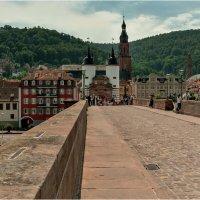 Старый мост г. Гейдельберг ( нем. Heidelberg ) — город в Германии :: Bo Nik