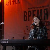 На концерте Ольги Арефьевой в Самаре :: Олег Манаенков