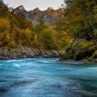Гранитный каньон. Адыгея :: Сергей Сабешкин