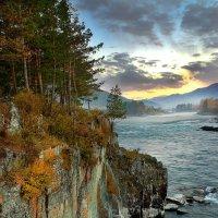 Тихий закат на Катуни :: Владимир Черкасов