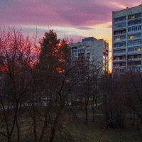 Закаты с балкона. :: Сергей Адигамов