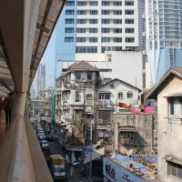 Мост в Мумбае :: Алексей Хвастунов