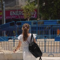 Израильтяне-девушка с сумками :: Shmual Hava Retro