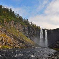 Водопад на 2-й Гагарьей :: Александр Хаецкий