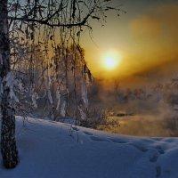 Звенит струна туманного заката :: Александр | Матвей БЕЛЫЙ