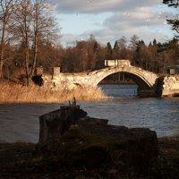 Осенний мост...Старинный мост.. :: Елизавета Вавилова
