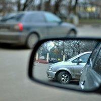 Зеркало, заднего вида... :: Андрей Шейко