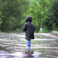 прогулка под дождем :: Tatiana Florinzza