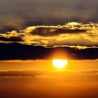 Золотые облака... :: Елена Elena