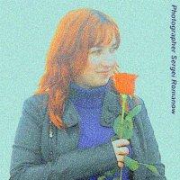 Девушка с цветком :: Сергей РоманоFF
