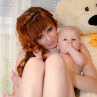 мама и малыш :: Анжелика Ивакина