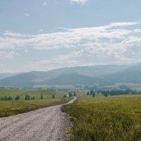 Дорога на Балыктыюль,Горный... :: Жанна Мальцева