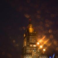 Дождь, в лобовое стекло :: Максим Коротовских