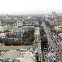 Улица с высоты :: Юрий Стародубцев