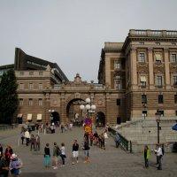 Королевский дворец (фрагмент) в Стокгольме :: Ольга Иргит