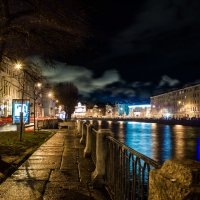 Ночные краски Петербурга :: Евгений Миллер