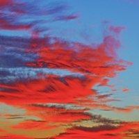 закат на Средиземном море- Тель-Авив :: Shmual Hava Retro