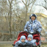Тандем на трассе :: юрий Амосов
