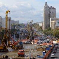 Москва строится :: Александр Рябков