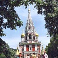 Шипка - Храм-памятник русским воинам :: Вячеслав Губочкин